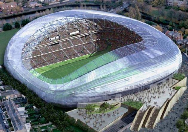 Aviva Stadium.