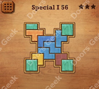 Cheats, Solutions, Walkthrough for Wood Block Puzzle Special I Level 56