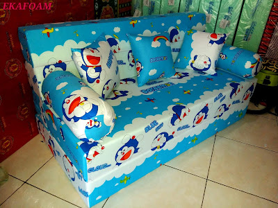 Sofa bed inoac motiff doraemon new