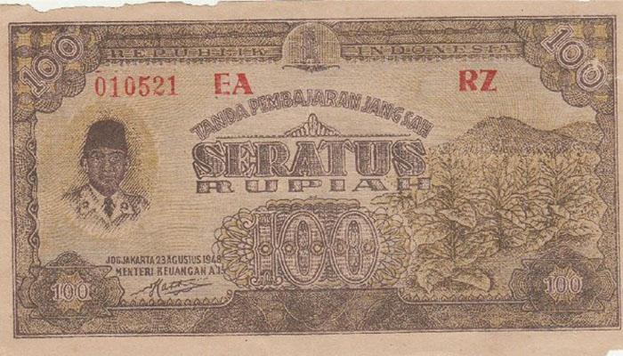 Uang 100 Tahun 1948