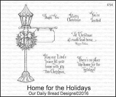 Our Daily Bread Designs Stamp Set: Home for the Holidays