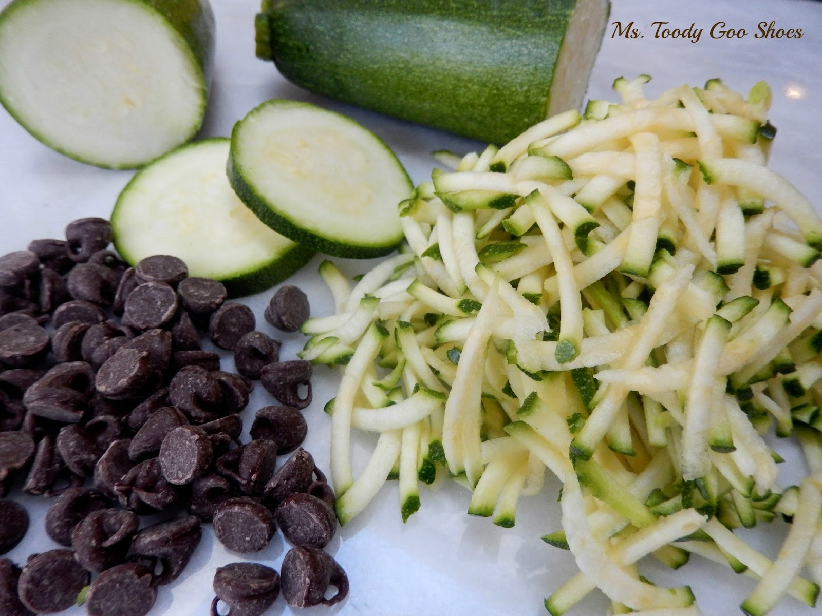 Chocolate Zucchini Snack Cake --- Ms. Toody Goo Shoes
