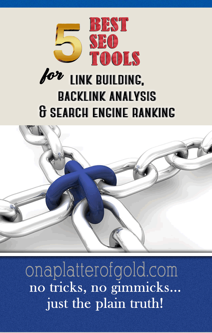 Powerful SEO Tools For Link Building, Backlink Analysis And Search Engine Rankings