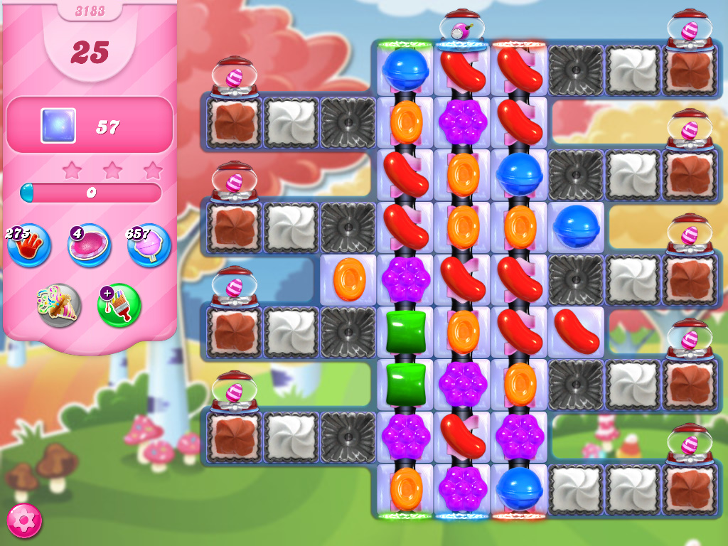 Candy Crush Saga level 3183