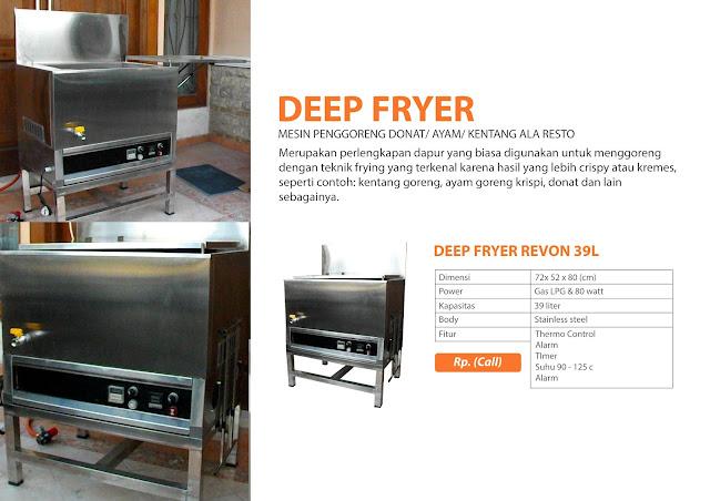 Jual Perlengkapan Dapur Untuk Usaha Fried Chiken