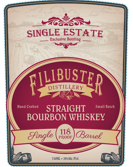 Filibuster Single Estate Straight Bourbon Whiskey