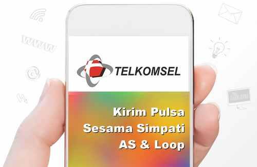 format transfer pulsa sesama telkomsel
