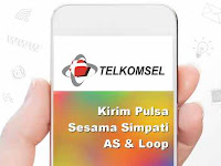 Cara Transfer Pulsa Telkomsel Simpati AS dan Loop