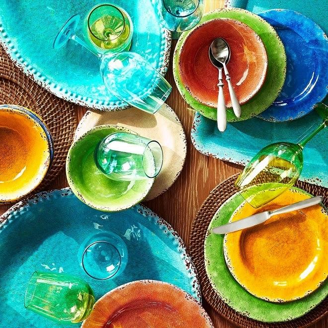 Get The Look Festive Outdoor Dinnerware For Summer