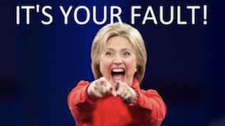 ICYMI:  Hillary blames DNC data operation for her loss - DNC data director calls it 'f**king bull***t'