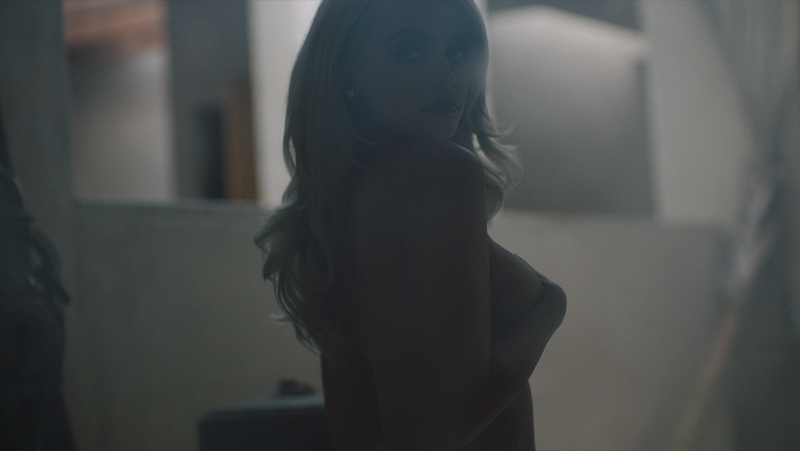 Kylie Jenner in a short film directed by Sasha Samsonova