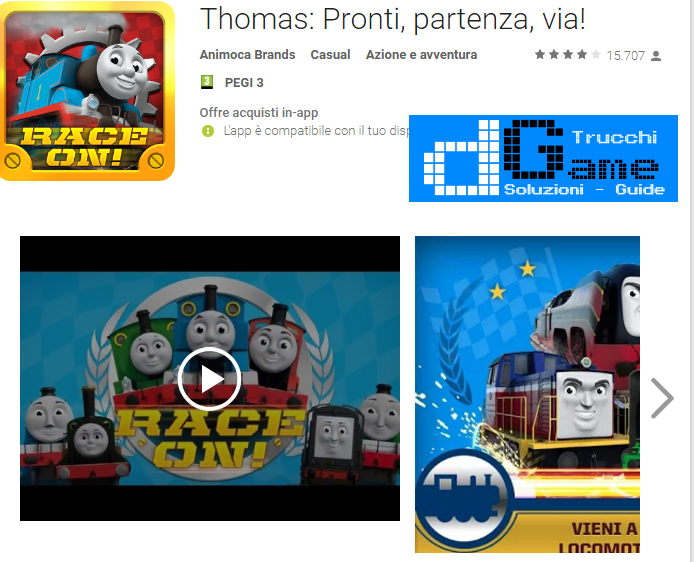 Trucchi Thomas & Friends Mod Apk Android v1.2