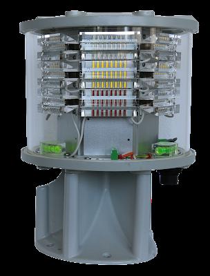 aviation lighting system Luxsolar ICAO Annex 14 medium intensity