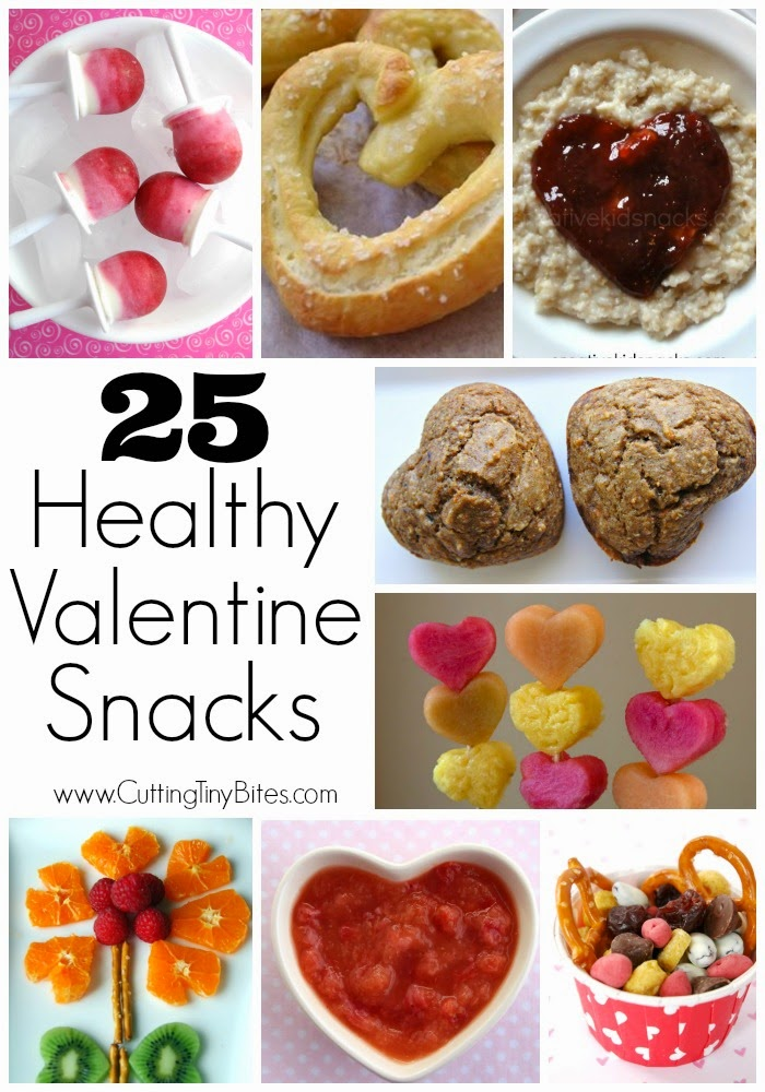 25 Healthy Snacks for kids for Valentine's Day. Your children will love these! Skip all the extra sugar.