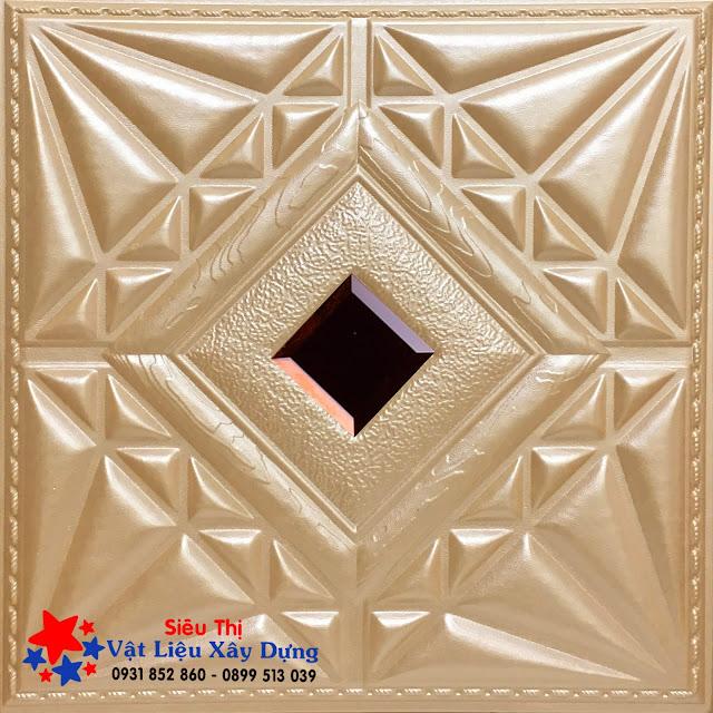 Tấm ốp PVC Da 3D màu cát vàng