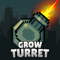 Grow Turret – Idle Clicker Defense Mod Apk (Infinite Coins)