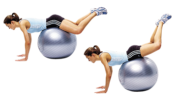 A2 Reverse hyperextensions on the ball