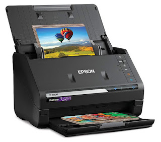 feed function expanse scanner that exceeds expectations at examining heaps of previews piece comp Epson FastFoto FF-680W Driver Download, Review And Price
