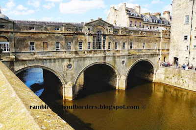 Pulteney Bridge, Bath, Somerset, UK