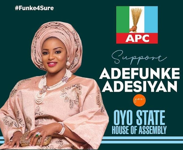 Yoruba Actress Adefunke Adesiyan Flags Her Campaign Banner For Oyo State House Of Assembly