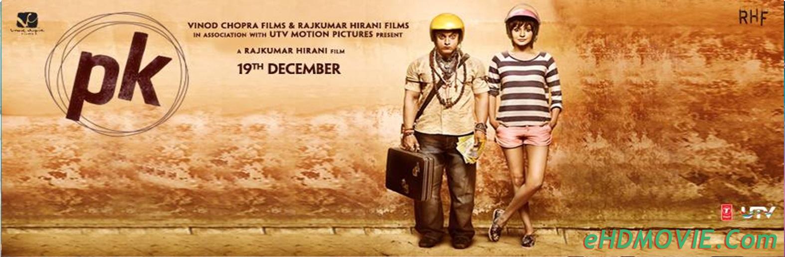 PK 2014 Full Movie Hindi 720p - 480p ORG BRRip 600MB - 1.4GB ESubs Free Download