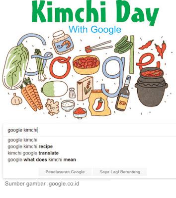 Kimchi Day ala google