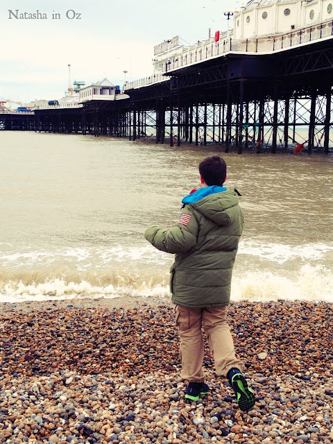 Brighton Beach, England, San Cisco, Tuesday Tune, Natasha in Oz