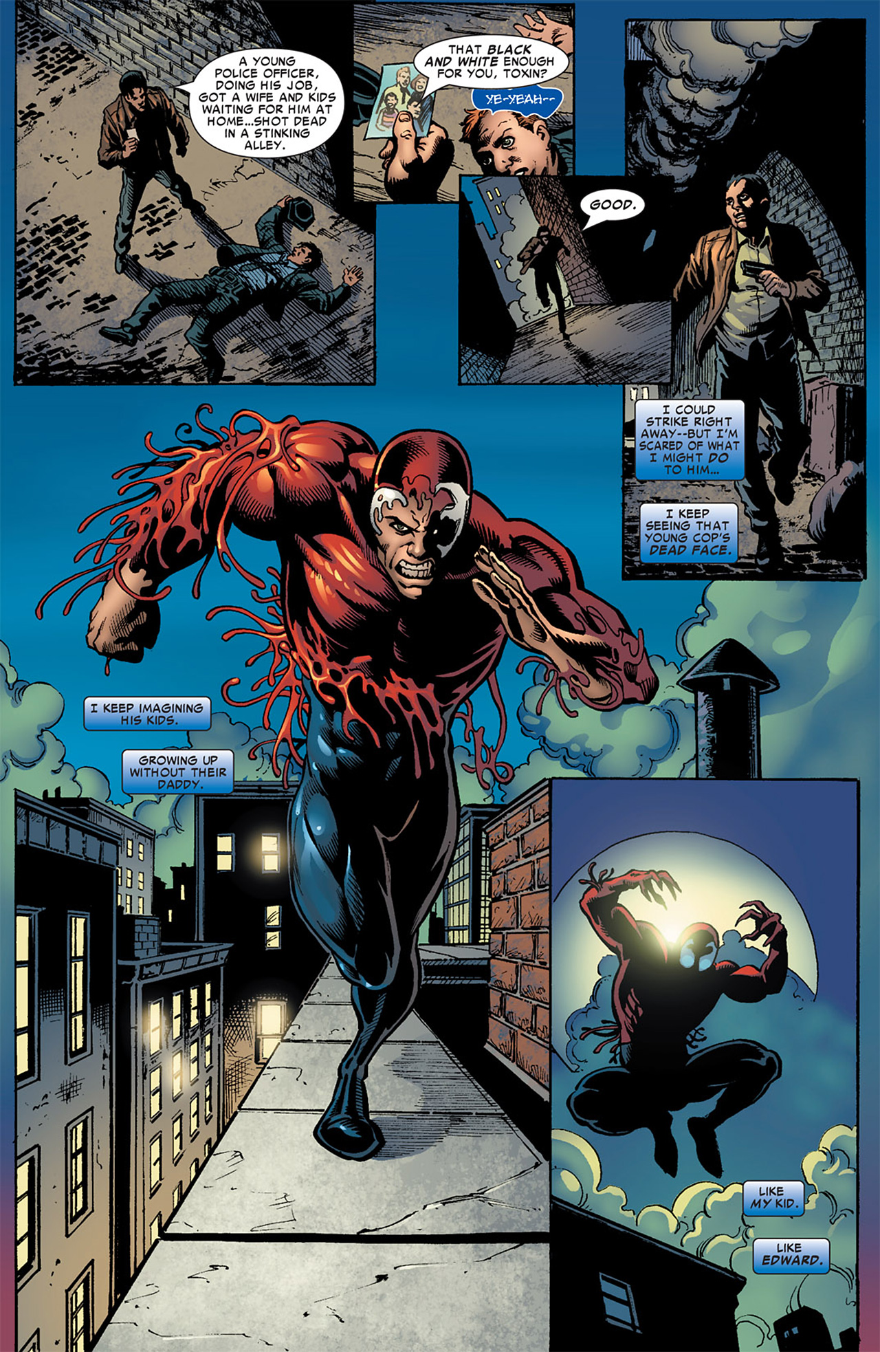 Read online Toxin comic -  Issue #3 - 16