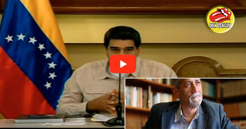 Américo de Grazia señala a Maduro por amenazarlo de muerte en Cadena Nacional de TV