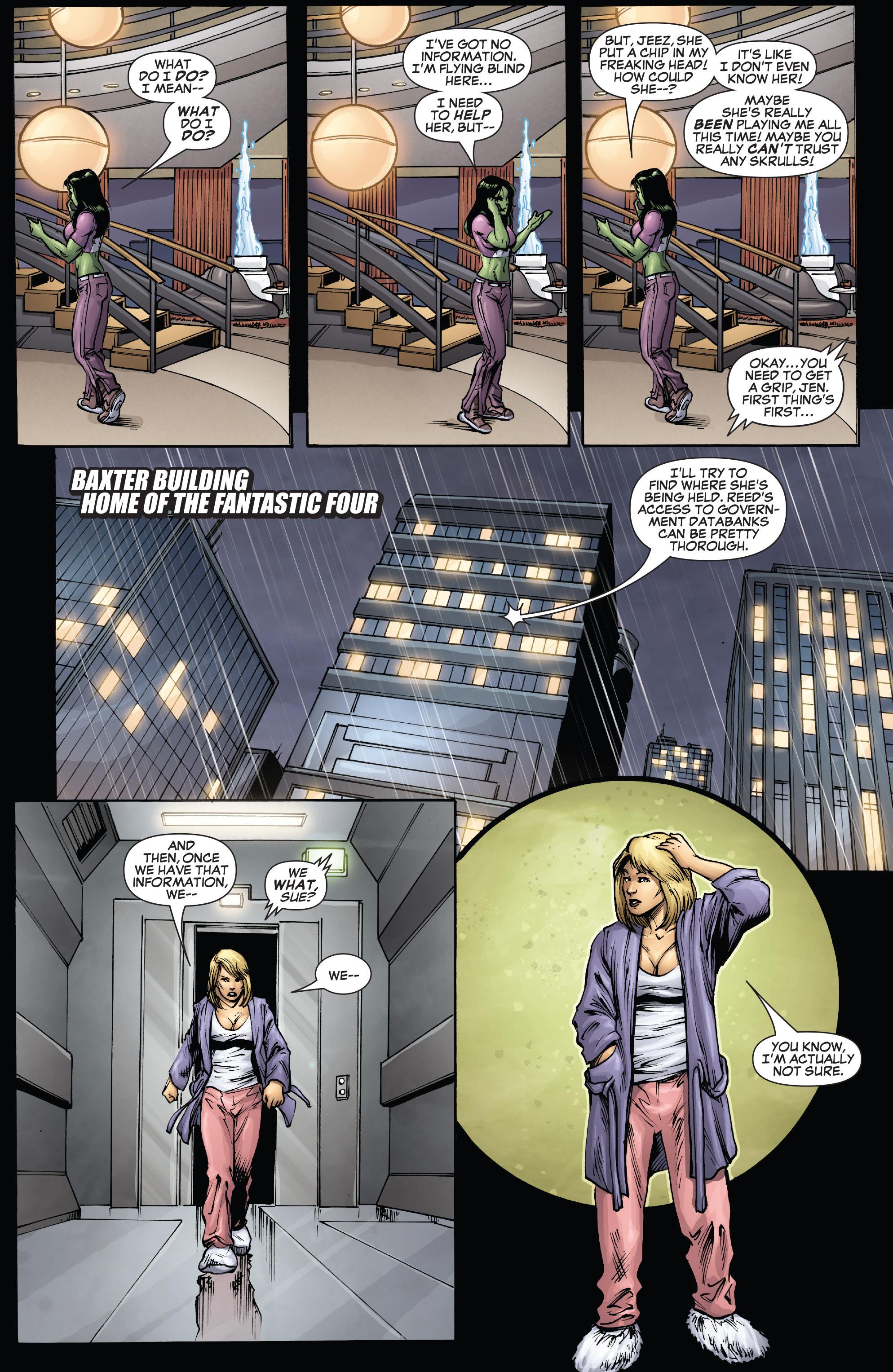 Read online She-Hulk (2005) comic -  Issue #38 - 10
