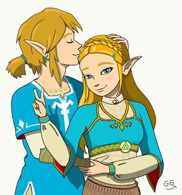 Zelda et Link