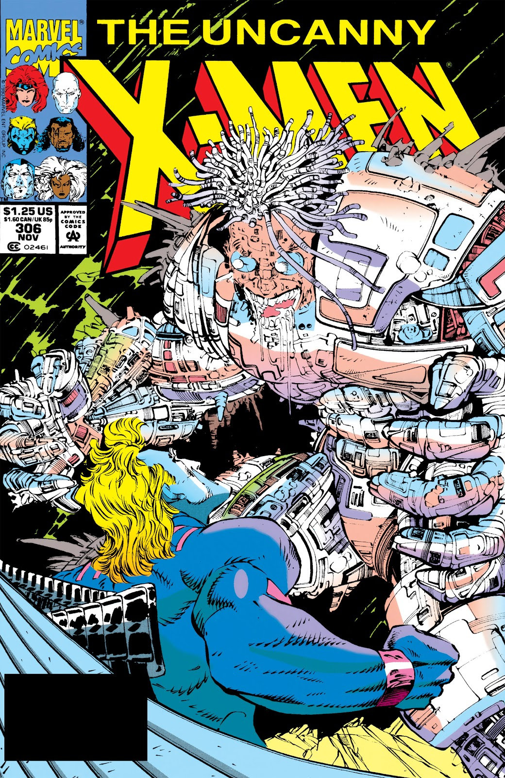 Uncanny X-Men (1963) issue 306 - Page 1