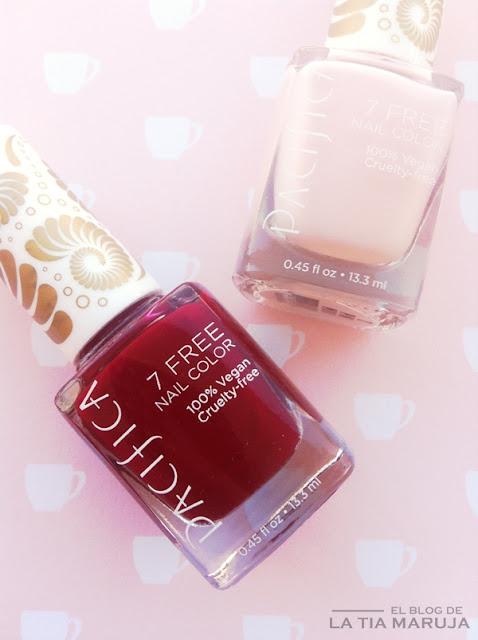 Pacifica 7 free nail color esmalte uñas iHerb
