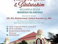 Silahturahmi Keluarga Besar Wahdah Islamiyah Digelar di Makassar, 9 Juli 2017