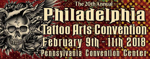 the 20th Philadelphia Tattoo Arts Convention