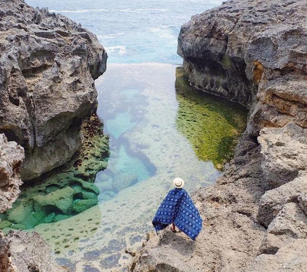 Tempat Wisata Terindah Paling Hits di Nusa Penida Angle's Billabong