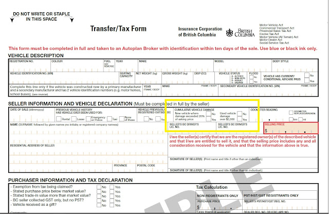Icbc Used Car Tax