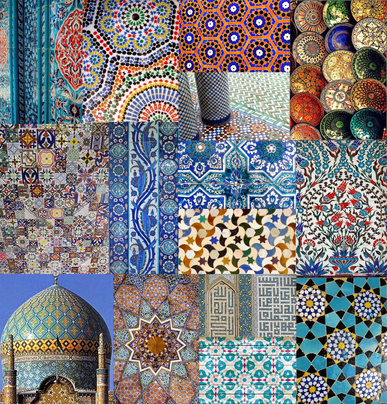Textile Candy: #Tuesdaytrend Moroccan Tile Print Trend For