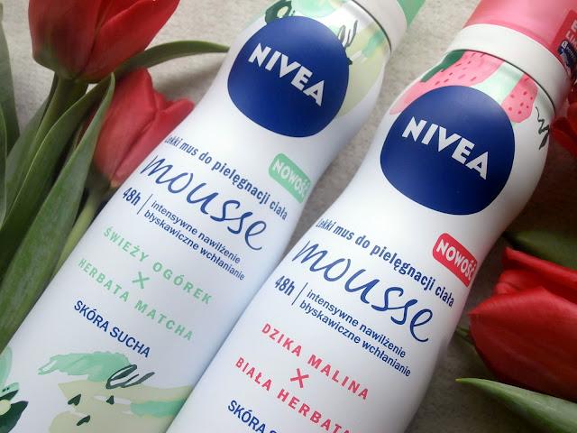 Lekkie musy do pielęgnacji ciała od Nivea