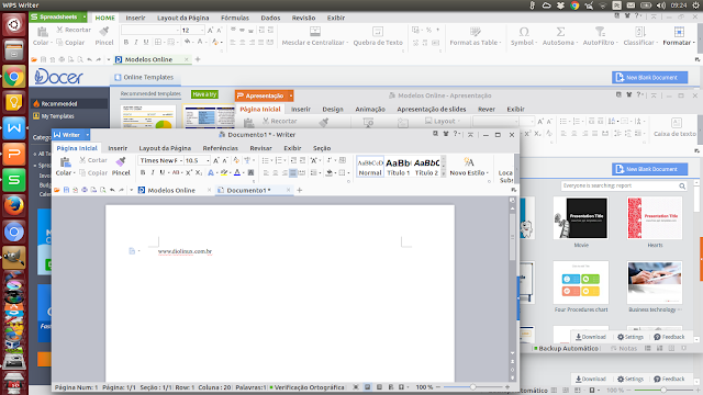 WPS Office no Ubuntu