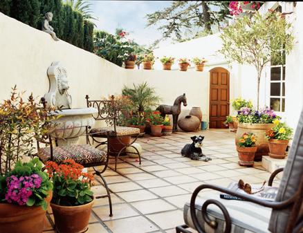 Terapia da casa terapia do verde cuidar do jardim e da alma - Fotos de patios de casas ...