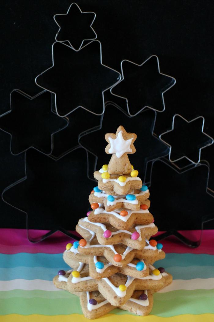 cookies-christmas-tree, arbol-de-navidad-de-galletas, galletas-de-canela