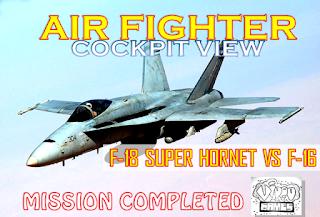 Best Fighter Of F-18 Super Hornet VS F-16