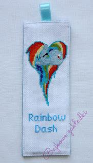Zakładka do książki Rainbow Dash – Rainbow Dash bookmark