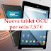 Nuevo regalo de la OCU, una nueva tablet por solo 7,57€