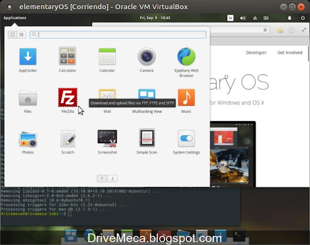 DriveMeca instalando elementary OS Loki paso a paso