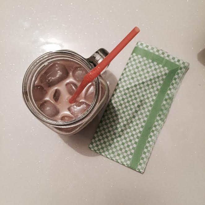 evde soğuk kahve yapımı