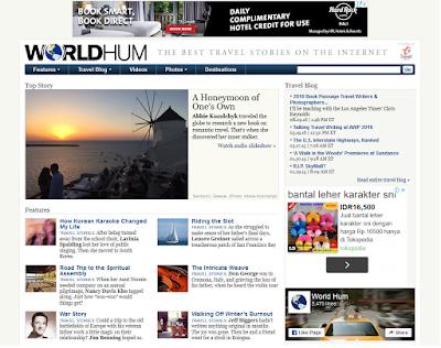 majalah online travel terbaik world hum magazine the best
