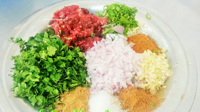 MINCED MEAT SAMOSA INGREDIENTS