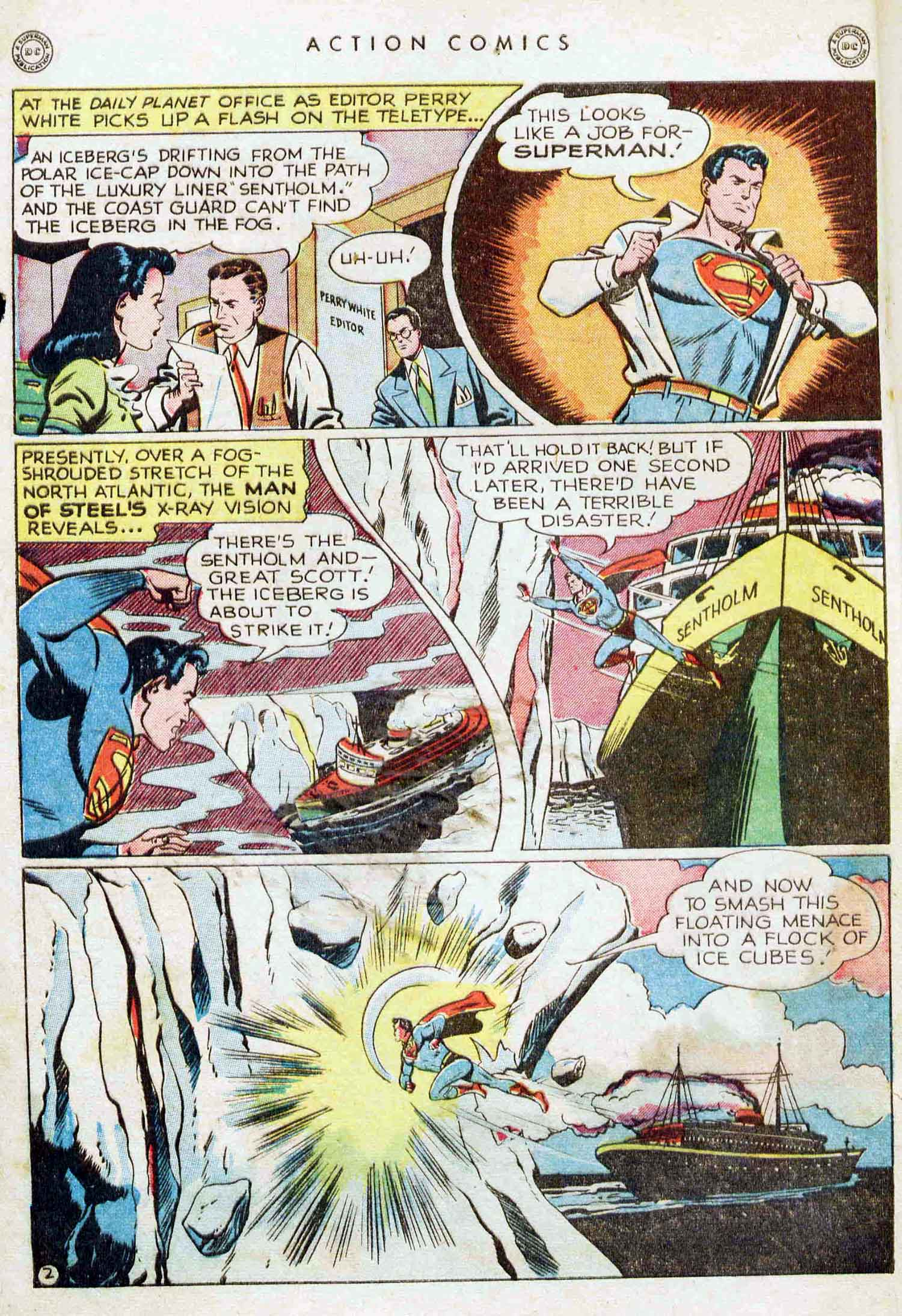 Read online Action Comics (1938) comic -  Issue #129 - 3